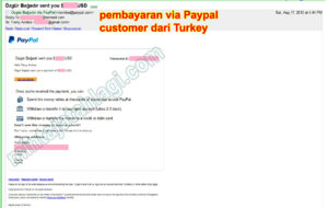 pembayaran paypal customer turkey 1