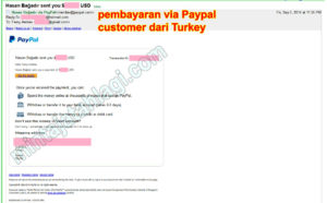 pembayaran paypal customer turkey 3